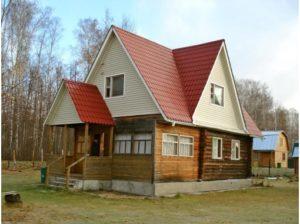 Замена кровельного материала. Новая крыша на старом доме